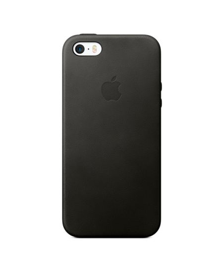 Чехол для iPhone Apple iPhone SE Leather Case Black